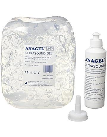 Anagel UGEL5000 - Gel de ultrasonidos (botella de 5 L)