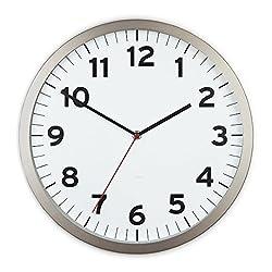 Umbra Anytime Wall Clock, White