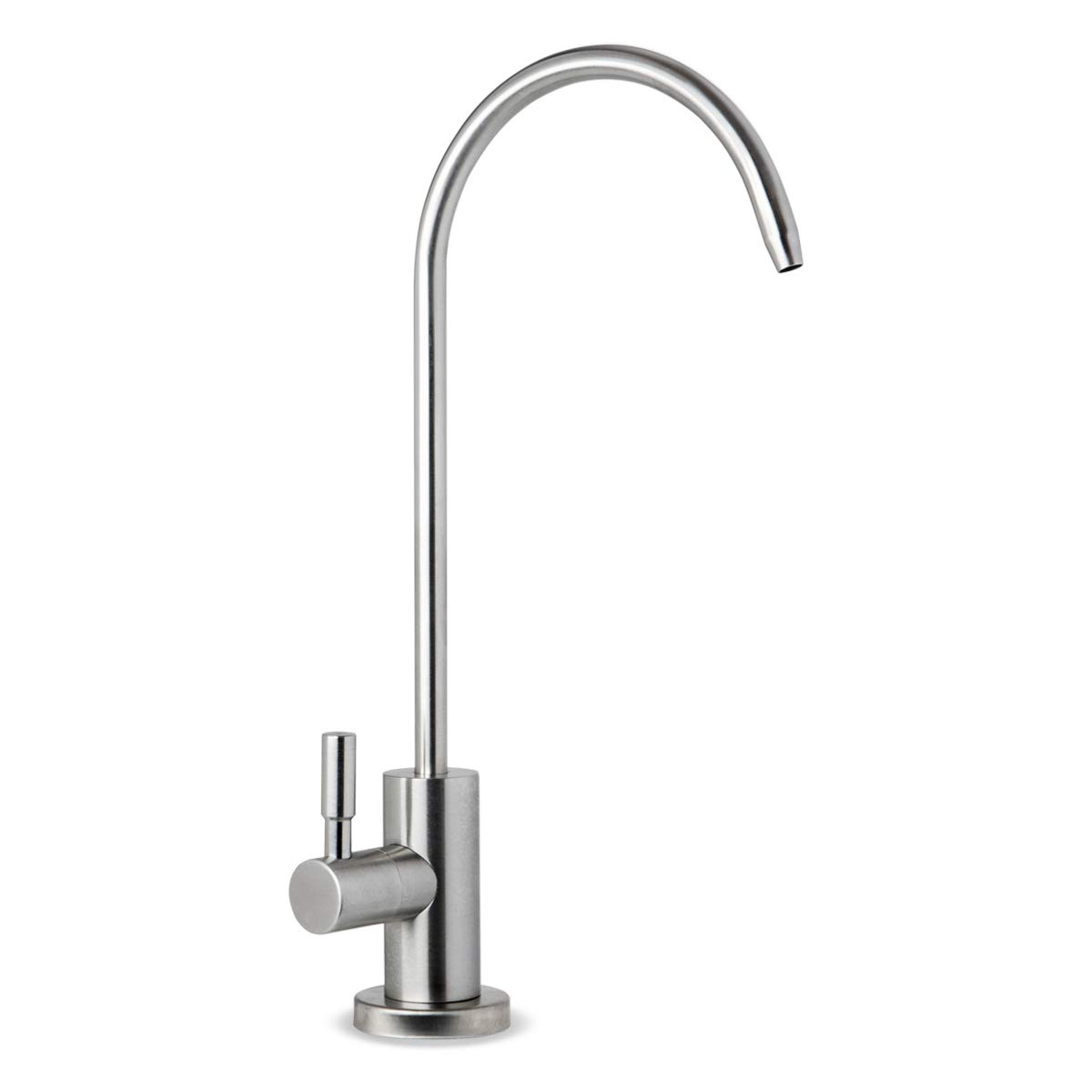 iSpring GA1-SS Stainless Steel Kitchen Bar Sink Reverse Osmosis RO Filtration Drinking Water Faucet, Lead-Free in Brushed Nickel Finish
