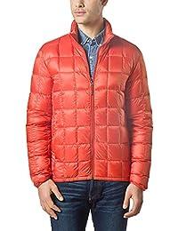 Men Packable Down Quilted Puffer Jacket Lightweight Puffer Coat