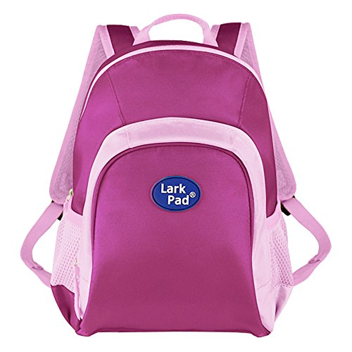 Larkpad 10216 Nylon Toddler Kids Bags Ultralight Mini Backpack, 30.5 cm, Purplish Red