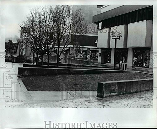 1977 Press Photo Eugene Mall merchants are hoping that another major - Eugene Mall Stores