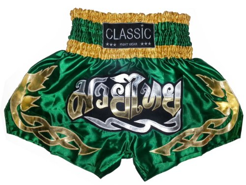 Classic Muay Thai Kick Boxing Shorts : CLS-008
