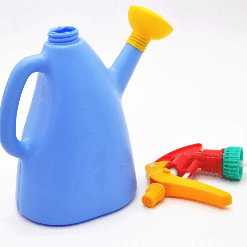 Great St. Watering Cans Gardening Small Watering Can Sprinkler Succulent Pressing Kettle Watering Watering Can A+ (Color : Blue) by Great St.