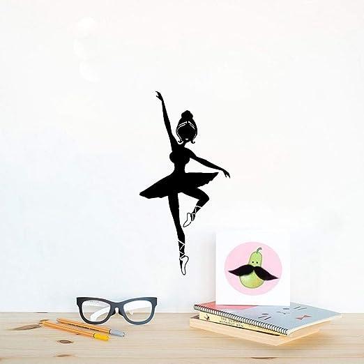 pegatina de pared 3d Bailarina de ballet Escuela de baile ...