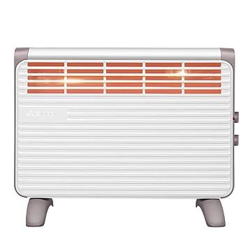 OR&DK Portátil Ultra Delgado Plana Radiadores con Tendedero, por convección Eléctrico Calefactor Ahorro de energía