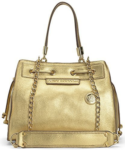 Juicy Couture Gold Robertson Leather Mini Daydreamer