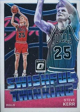 f4e469fd6 2018-19 Donruss Optic Swishful Thinking  6 Steve Kerr Chicago Bulls  Official NBA Basketball