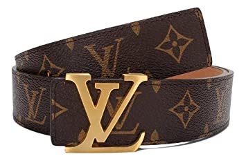 6ee63ba493f1 Amazon.com  Louis Vuitton Lv Men s Bridle Belt with Replica  Health ...