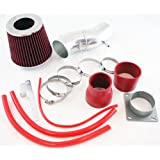 ST Racing Red Short Ram Air Intake Kit + Filter for Nissan 93-97 Sentra