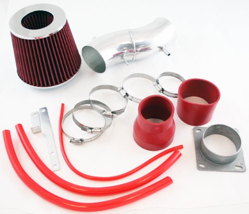 R&L Racing Red Short Ram Air Intake Kit + Filter For Nissan 93-97 Sentra 200SX All (Nissan Sentra Intake)