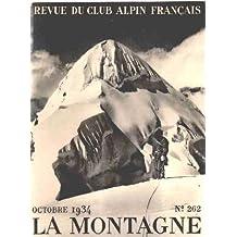 Club alpin français -la montagne n° 262