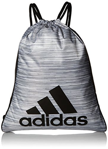 adidas Burst Sackpack-Looper White Heather/Black,  XS