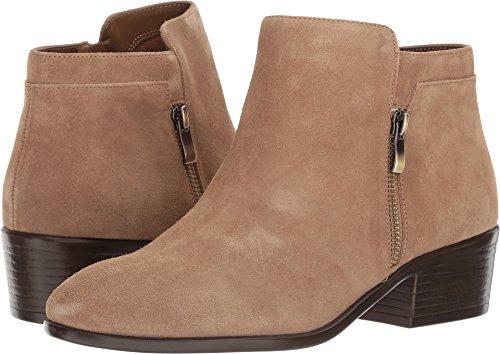 Sandals Aerosoles Suede (Aerosoles Women's Point Plank Wedge Sandal,White Leather,8.5 M US)