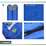 FUNDANGO Lightweight Cotton Flannel Sleeping Bags For Adults Men Women 26 Degrees F Great For Outdoor Camping Backpacking Hiking Waterproof Compression Sack Included
