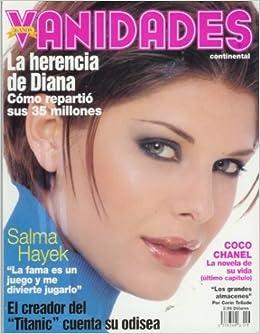 Vanidades Continental April 21 1998 Salma Hayek Princess Diana