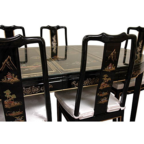 Oriental furniture fine asian style dining room furniture for Oriental dining table