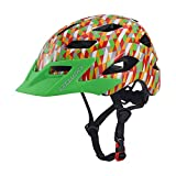 Exclusky Kids Youth Cycle Safety Helmet Skating Scooter Adjustable 50-57cm(Ages 5-13) (colorful)