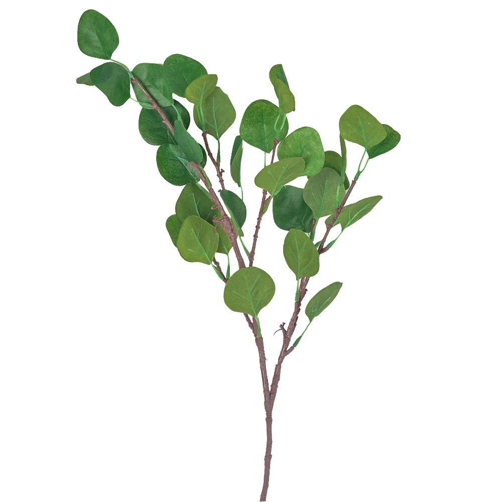Youthny Artificial Eucalyptus Leaf Plants Fake Foliage Flowers Home Decor