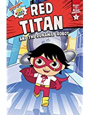 Red Titan and the Runaway Robot: Ready-to-Read Graphics Level 1 (Ryan's World)