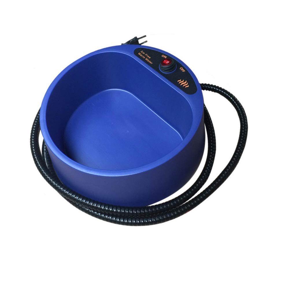 Ciotola riscaldata Pet Bowl Outdoor o Indoor Pet riscaldante Pet Thermal Water Bowl cane gatto riscaldato acqua ciotola con impermeabile On Off Switch
