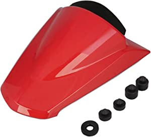 AnXin Motorcycle Red Rear Seat Cowl Passenger Pillion Fairing Tail Cover For Kawasaki Ninja 250R ZX250R EX250 2008-2012