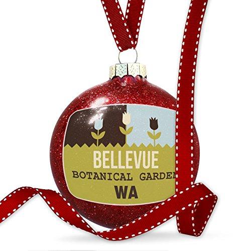 Christmas Decoration US Gardens Bellevue Botanical Garden - WA Ornament (Us Wa Bellevue)