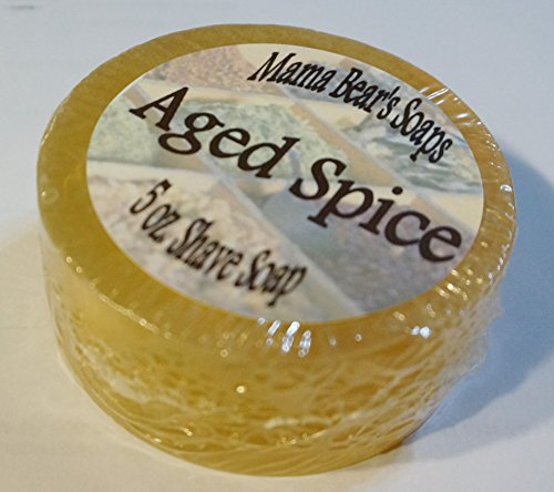 Fragrance Shave Soap (Aged Spice (Origional Old Spice type Fragrance) Shaving)