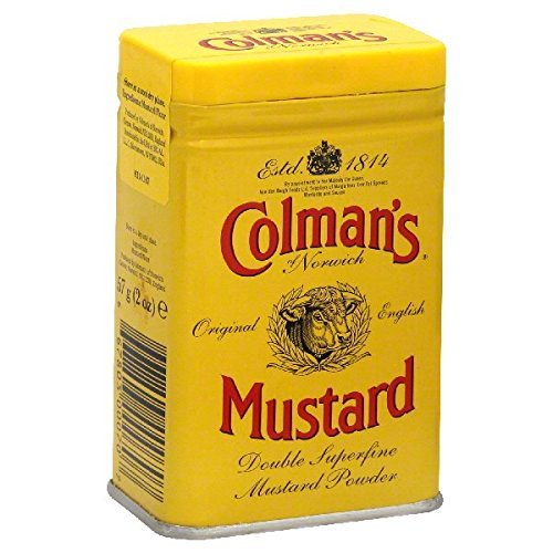 Original Colmans English Dry Mustard Powder Imported From The UK (Colmans Dry Mustard)