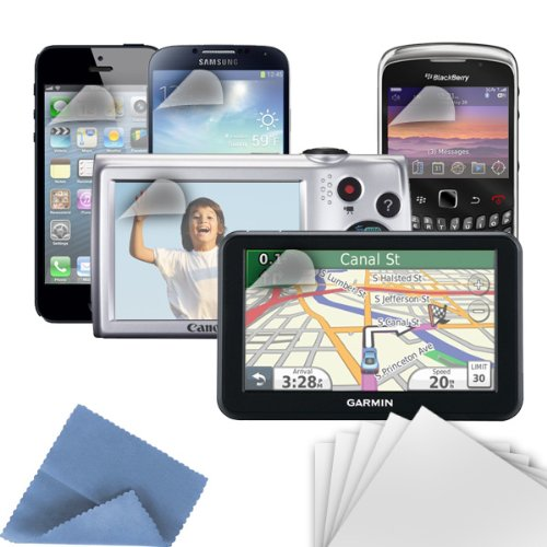 Griffin Protect your GPS, mobile phone, MP3 player, or other screens from scratches, smudges and fingerprints. (Screen Kit Griffin Care)