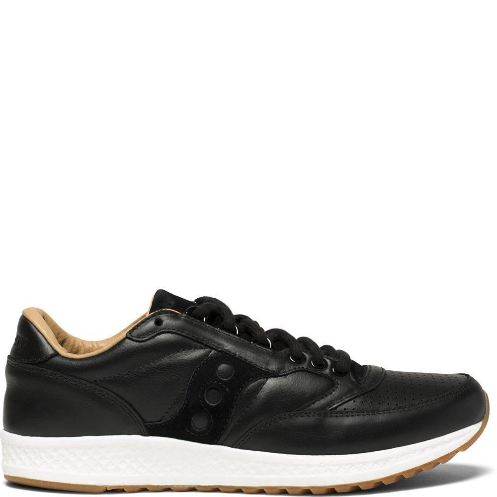 Saucony Originals Men's Freedom Runner Running-Shoes B01N7VPBP1 7.5 D(M) US|Black