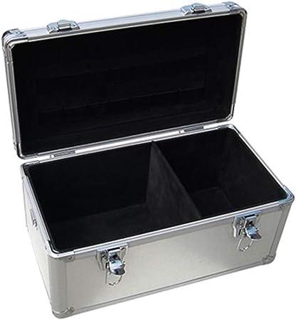 Caja De Herramientas De Caja De Vuelo De Aluminio Pequeña Caja De Almacenamiento Portátil Caja De Transporte Estuche Universal Para Dispositivos 380 X 260 X 260 mm: Amazon.es: Hogar