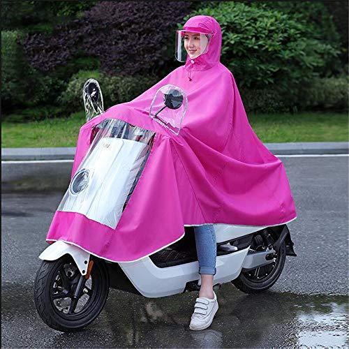 Impermeabile Motocicletta A Singolo Fog Fog Slot Allungato Scooter Motocicletta Specchio Copricapo Poncho Oxford Elettrico Anti Impermeabile A Con Anti Scooter Motociclismo Mobility Grande HH7fBw
