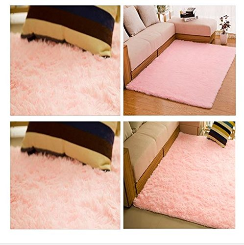 MD Group Bedroom Yoga Floor Mat Rug Non slip 80x120cm Velvet Carpet
