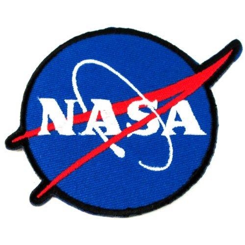 1 X NASA Logos Iron on Patches