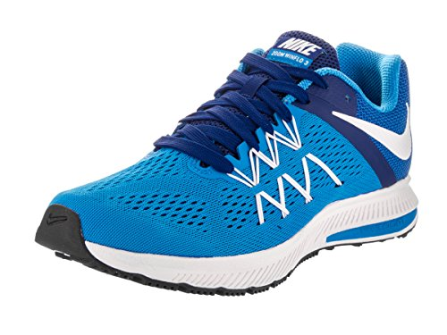 Homme dp Nike photo Royal Winflo 3 Chaussures Zoom White Blue Entrainement Blue De Running Azul qwT0Fq