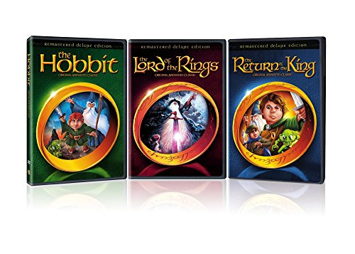 Ray Ring Flash - The Lord of the Rings Deluxe Edition/The Hobbit Deluxe Edition/The Return of the King Deluxe Edition/ (3-Pack/Giftset/DVD)