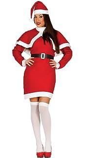 Smiffys - Disfraz Mamá Noel para mujer (23171M): Amazon.es ...