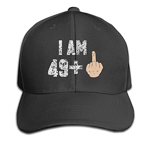 50th Birthday Gift Ideas Snapback Sandwich Cap Black Baseball Cap Hats Adjustable Peaked Trucker Cap