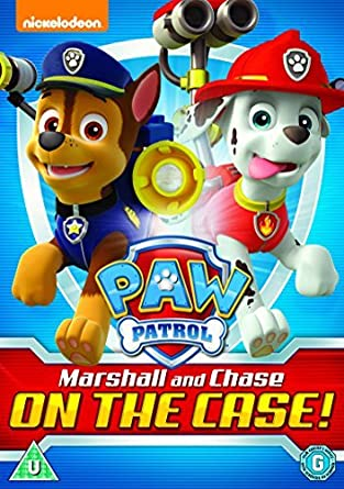 Paw Patrol: Marshall And Chase On The Case! [Region 2]