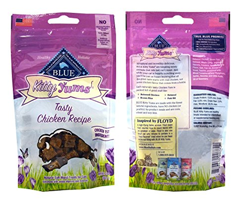 Blue-Buffalo-Kitty-Yums-Cat-Treats-Variety-Pack-6-Flavors-Savory-Seafood-Tasty-Chicken-Tasty-Beef-Tender-Turkey-Tempting-Tuna-and-Savory-Salmon-2-Ounces-Each-6-Total-Pouches
