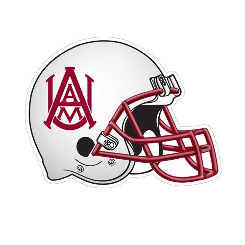 Alabama A&M Football Helmet Magnet 'Official Logo' by CollegeFanGear