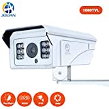 Security Camera, JOOAN 1080TVL CCTV Camera with Fixed 8mm Lens Security System for Indoor/Outdoor Weatherproof Camera with OSD Menu Function