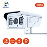 #10: Security Camera, JOOAN 1080TVL CCTV Camera with Fixed 8mm Lens Security System for Indoor/Outdoor Weatherproof Camera with OSD Menu Function