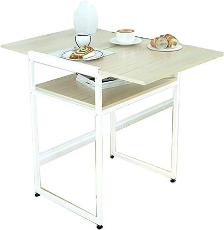 XIA Mesa de Comedor Plegable, multifunción, Rectángulo, Mesa Auxiliar, Mesa portátil, Cocina doméstica, 60 x 45 x 74,5 cm (Color : B): Amazon.es: Hogar
