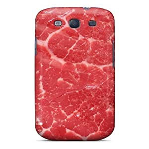 New AnnetteL Super Strong Meat Texture Tpu Case Cover For Galaxy S3