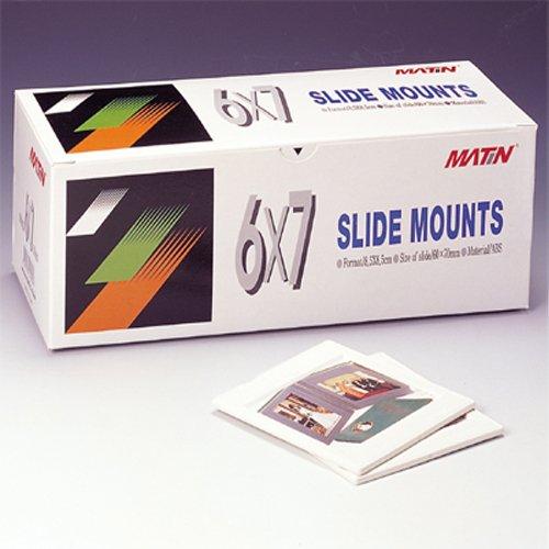 Matin ABS Plastic Slide Mounts Tray 6x7 - 50pcs