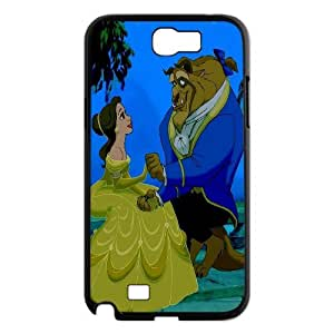 Unique Design -ZE-MIN PHONE CASE For Samsung Galaxy Note 2 Case -Beauty And The Beast Pattern 3