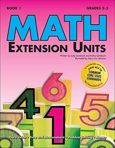 Math Extension Units Book 1 by Sharon Eckert (2005-01-01)
