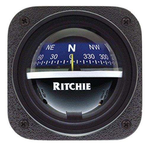 Explorer Bulkhead (Ritchie V-537B Explorer Compass - Bulkhead Mount - Blue Dial)